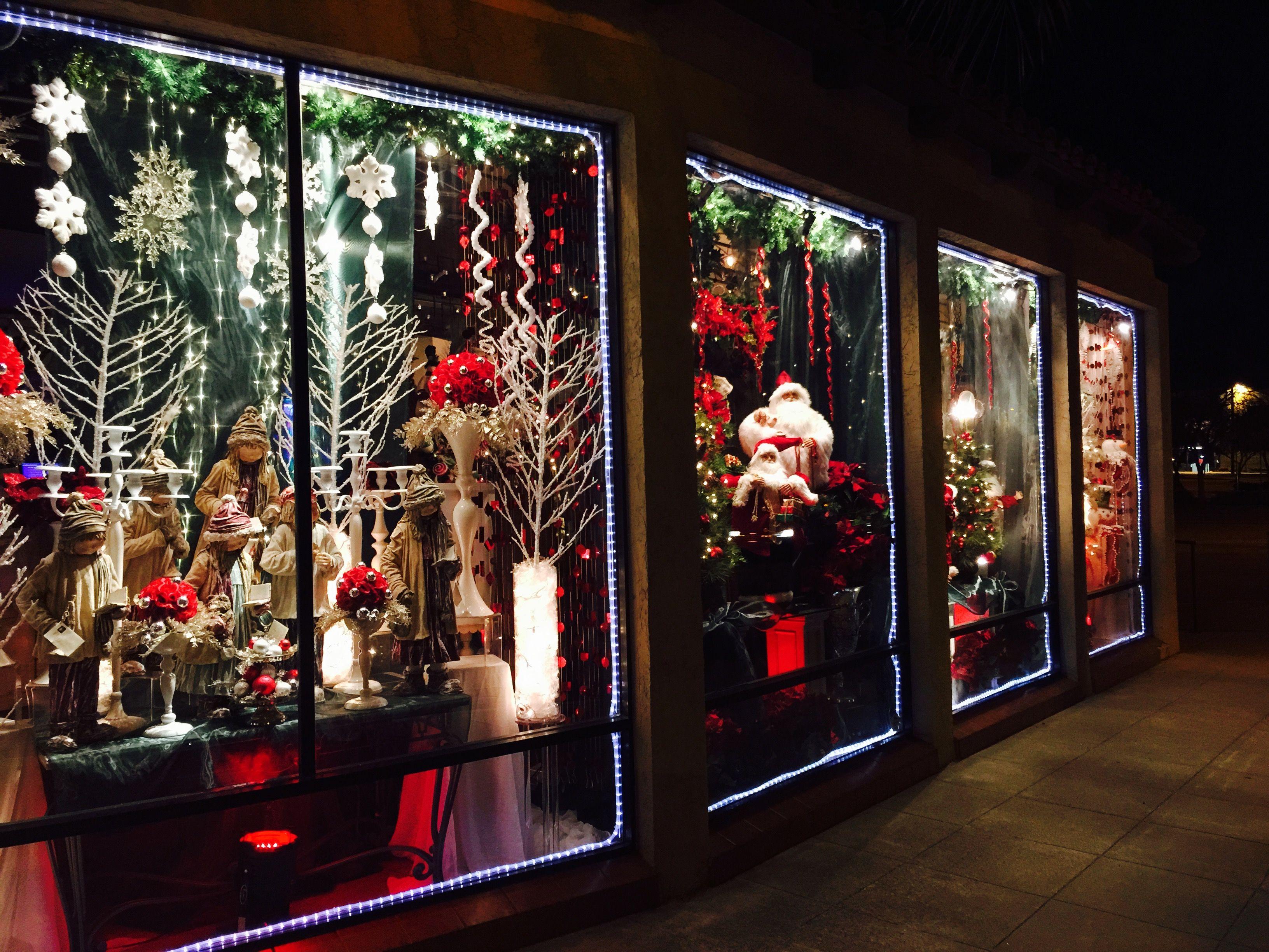 Window Art Window Display Flower Shop Holiday Decor Event