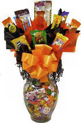 Image Detail For Holiday Gifts Halloween Candy Jar Bouquet