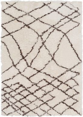 Surya Light Gray Scout Sco3003 Rug Shags Rectangle 8 X 10 Area Rugs Brown Area Rugs Rugs