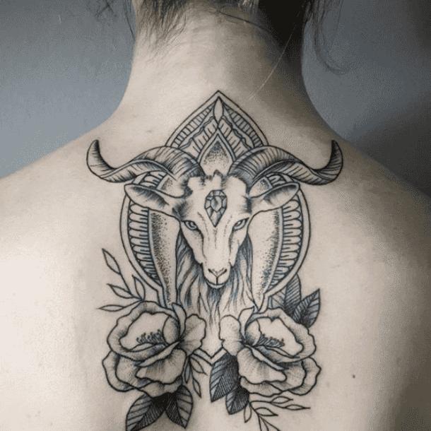 25 Best Sea Goat Constellation Tattoo Ideas For Capricorn Zodiac Signs Capricorn Tattoo Aztec Tattoo Aries Tattoo