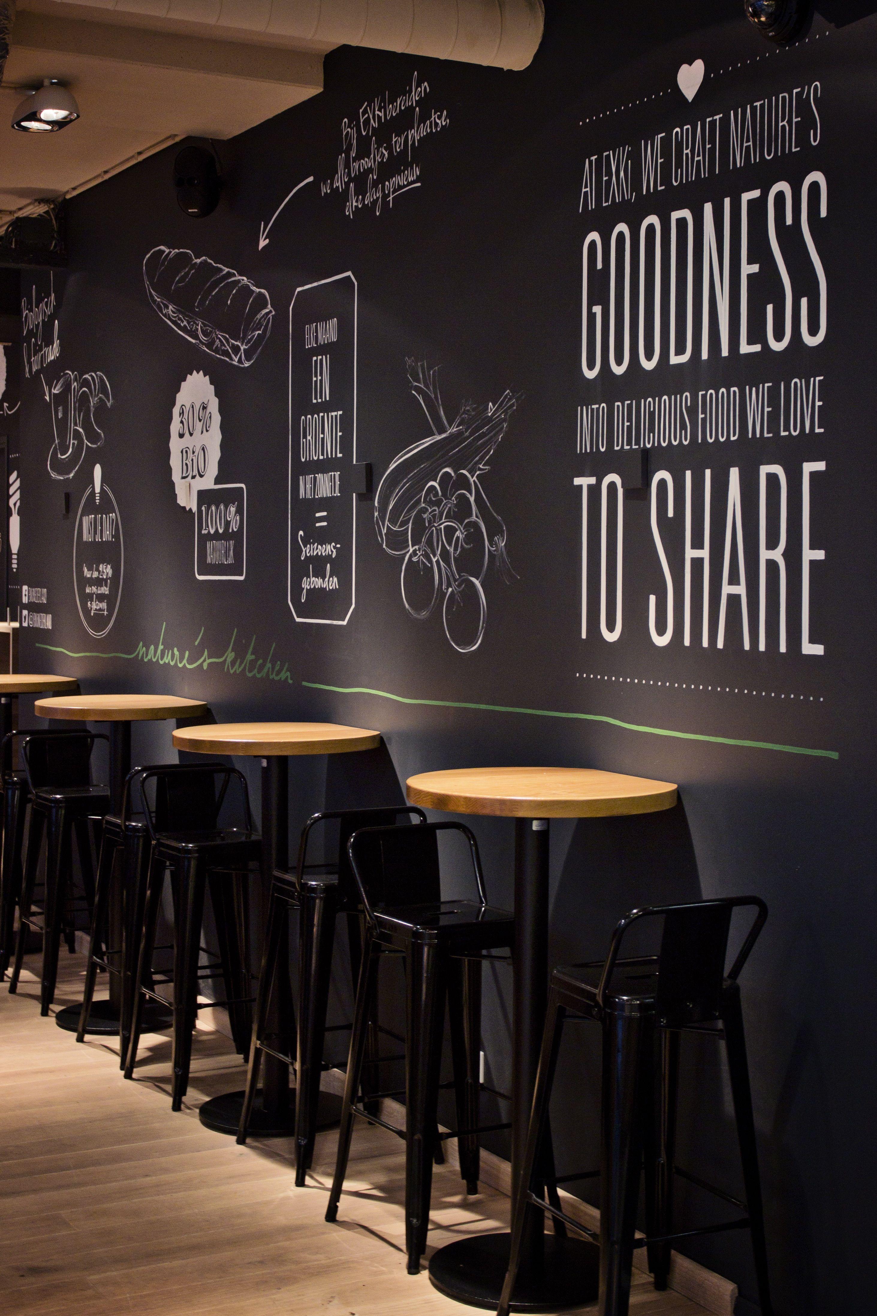 Exki Design Dehorecafabriek Restaurant Fastfood Decoration Homedecor Homedesign Homeideas Coffee Shops Interior Coffee Shop Design Coffee Shop Bar