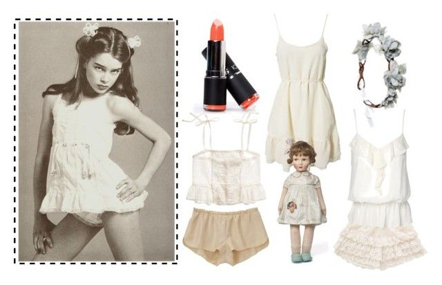 """Film -- Pretty Baby (1978) -- ""Violet"""" by comaetho ❤ liked on Polyvore featuring Rock 'N Rose, Jeane Blush, Jane Norman, Madewell and Vanessa Bruno"