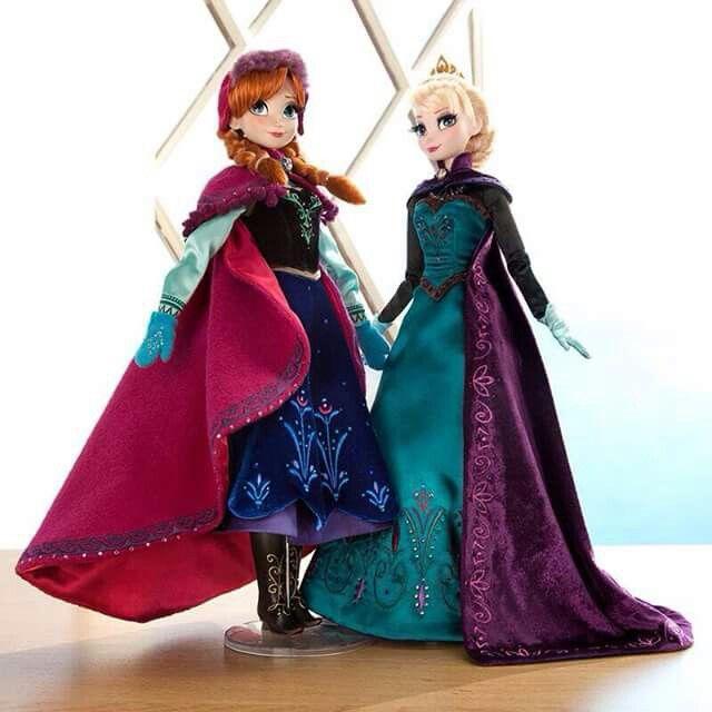 Muñecas Edicion Limitada Frozen Elsa Y Anna Muñeca Elsa Muñecas De Las Princesas De Disney Muñecas Barbie Disney