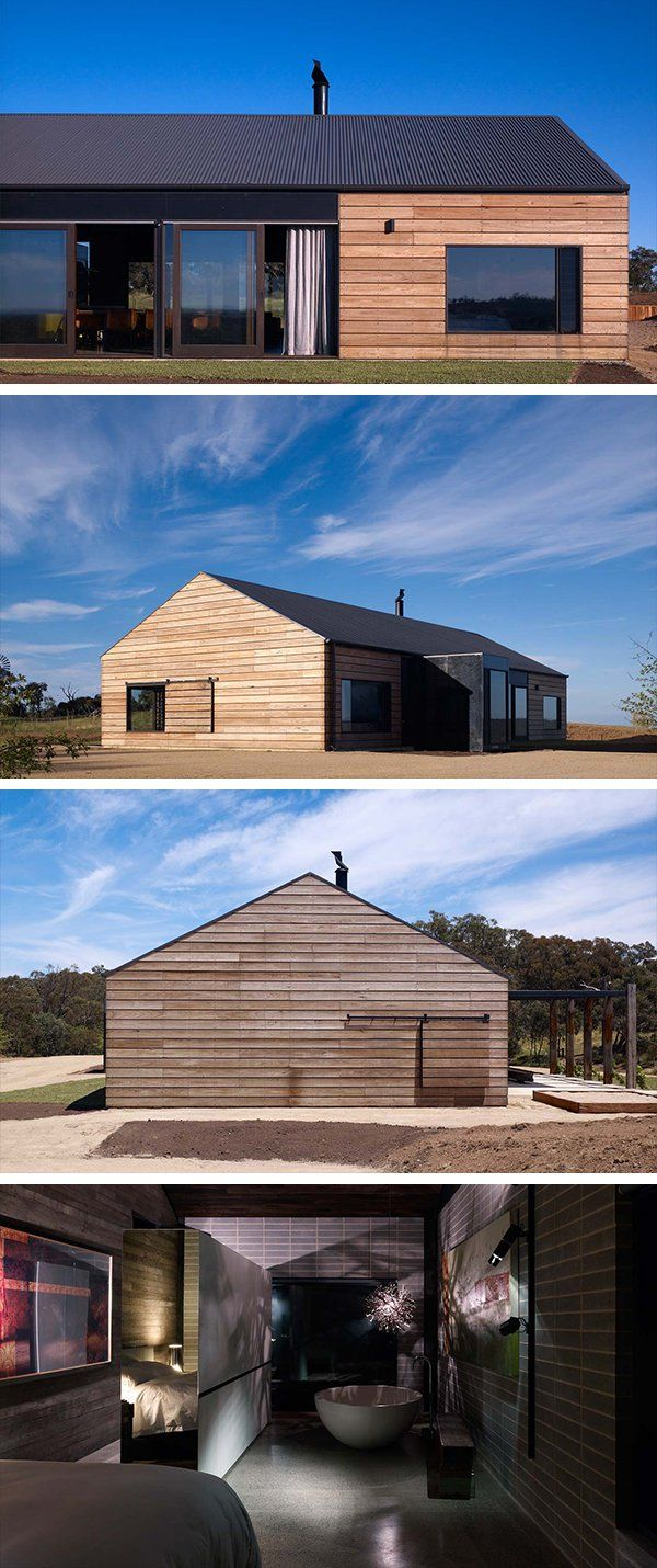 Hill Plain House by Wolveridge Architects in Victoria, Australia is part of Hill Plain House By Wolveridge Architects In Victoria Australia - The Hill Plain House by Wolveridge Architects in Victoria, Australia is a contemporary dwelling inspired by Victorianera farmhouses  Enjoy!