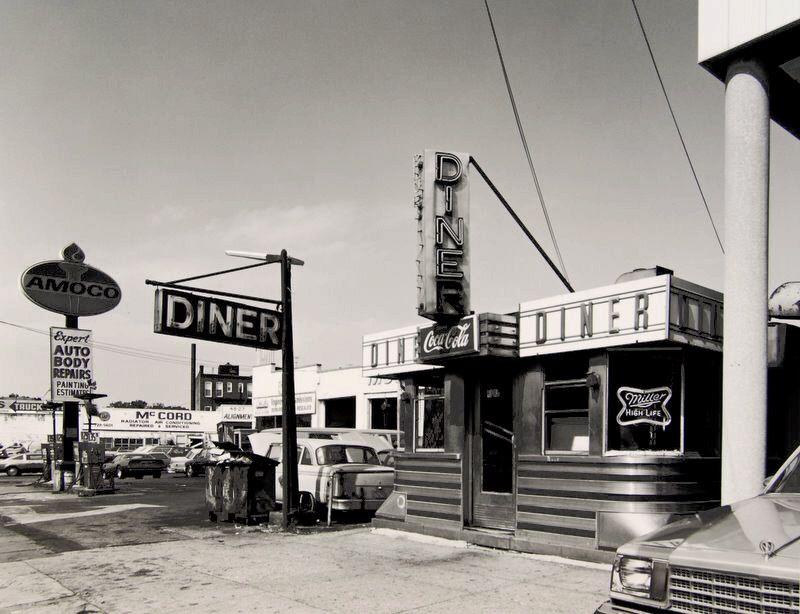 Black and White Diner