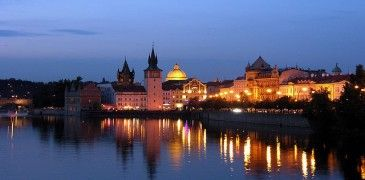 See the beauty of Prague at night on a dinner cruise.