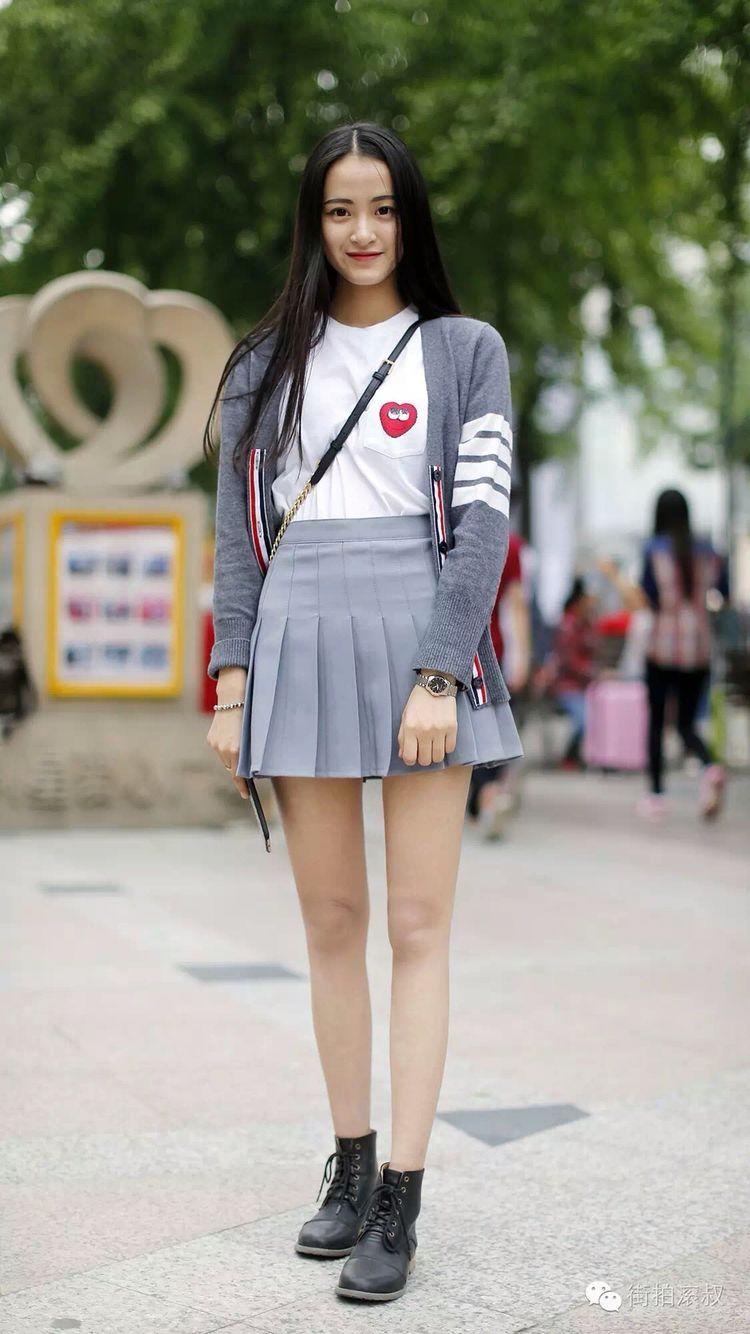 Chinese street style 7 #hangzhou#shanghai fashion 中国街拍 7