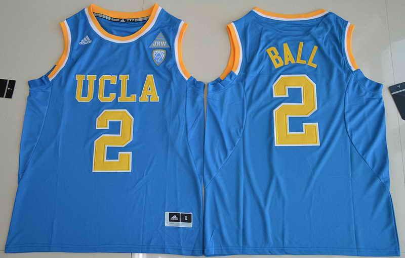 big sale 2d290 36f7d $21 2017 UCLA Bruins #2 Lonzo Ball Blue College Basketball ...