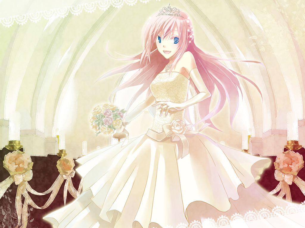 Calm Wedding Dress Megurine Luka Megurine Luka Pinterest Anime Anime Luka Anime Wedding Dress Wallpaper Anime Blue Wedding Dress wedding dress Anime Wedding Dress
