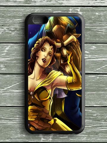 Beauty And The Beast Cartoon iPhone 6S Plus Case
