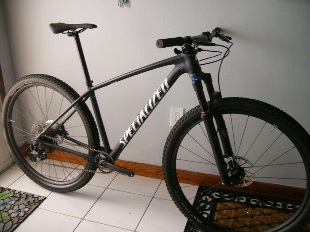 Sponsored Ebay Specialized Chisel Expert 2019 Medium Black Mountain Bike Black Mountain Bike Specialized Mountain Bikes Mountain Biking