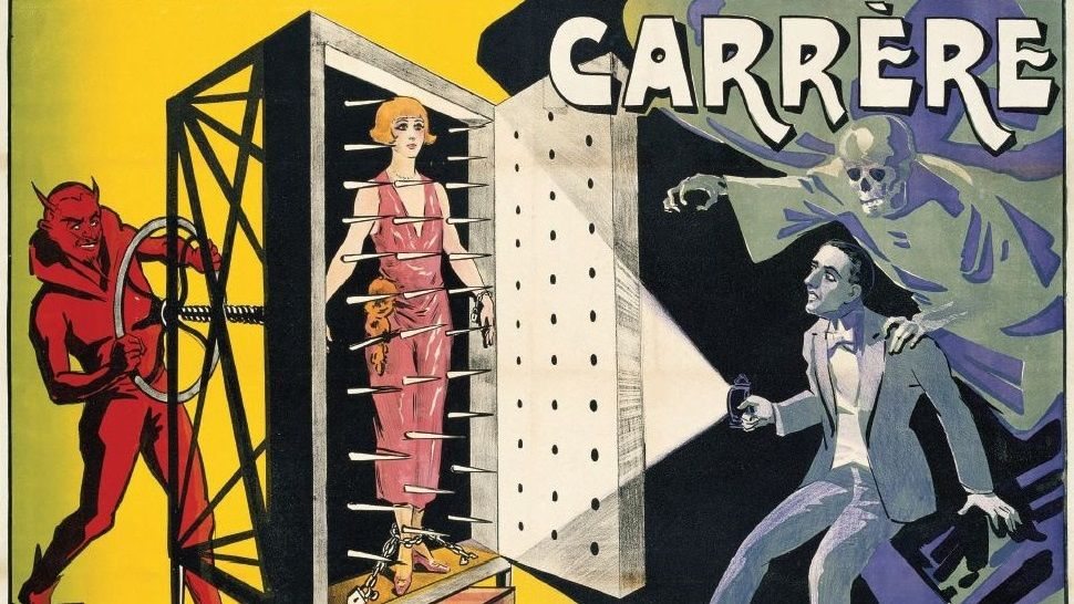 Taschen's collection of classic magician art is sinister and wondrous