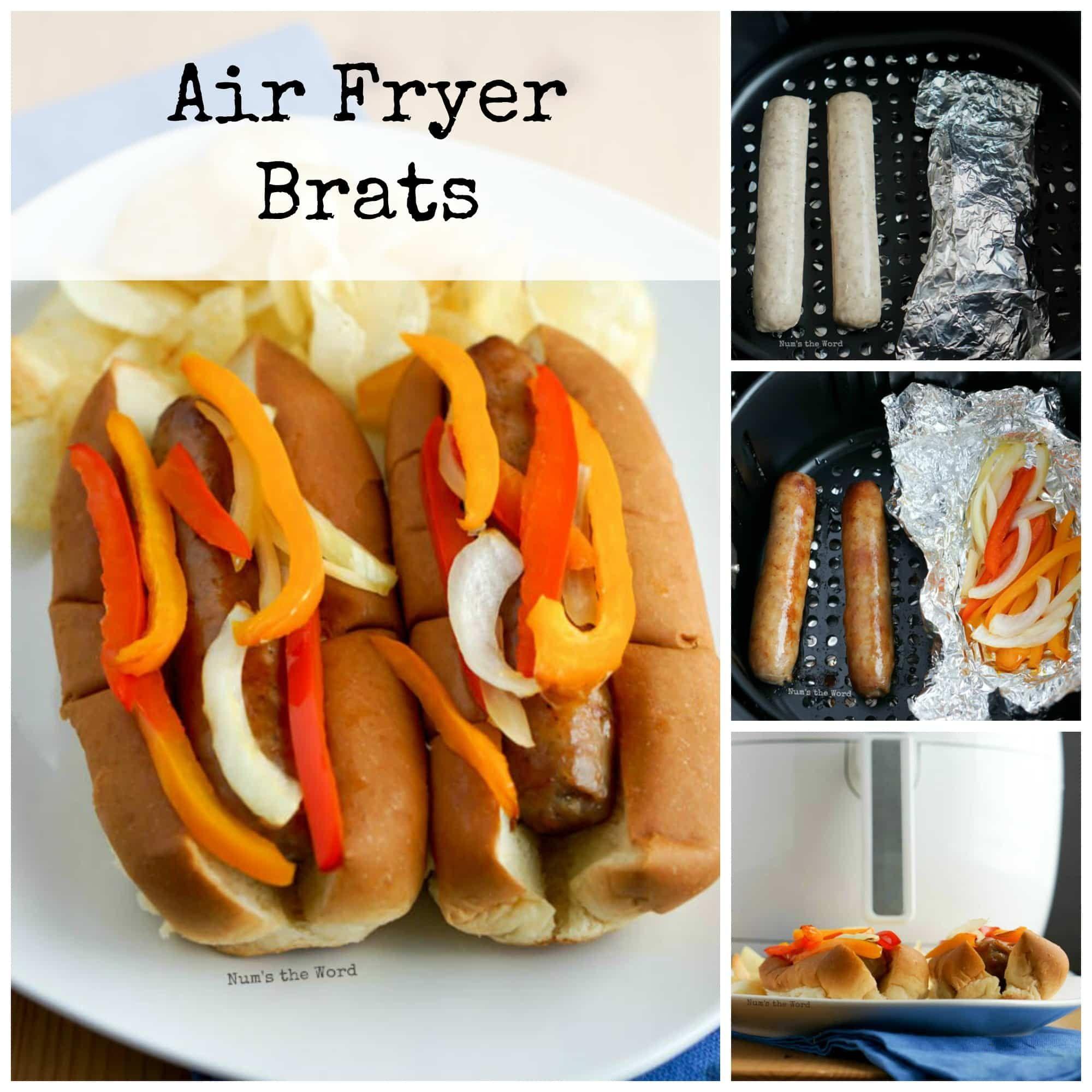 Air Fryer Brats Num's the Word Air fryer