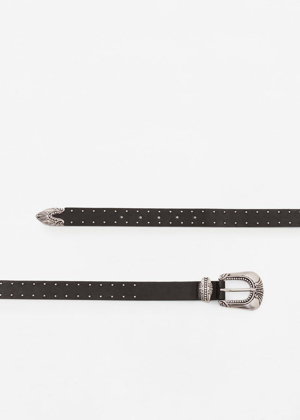 e58bd0a68 Cinturón tachuelas - Mujer | My wish list | Cinturones, Cinturones ...