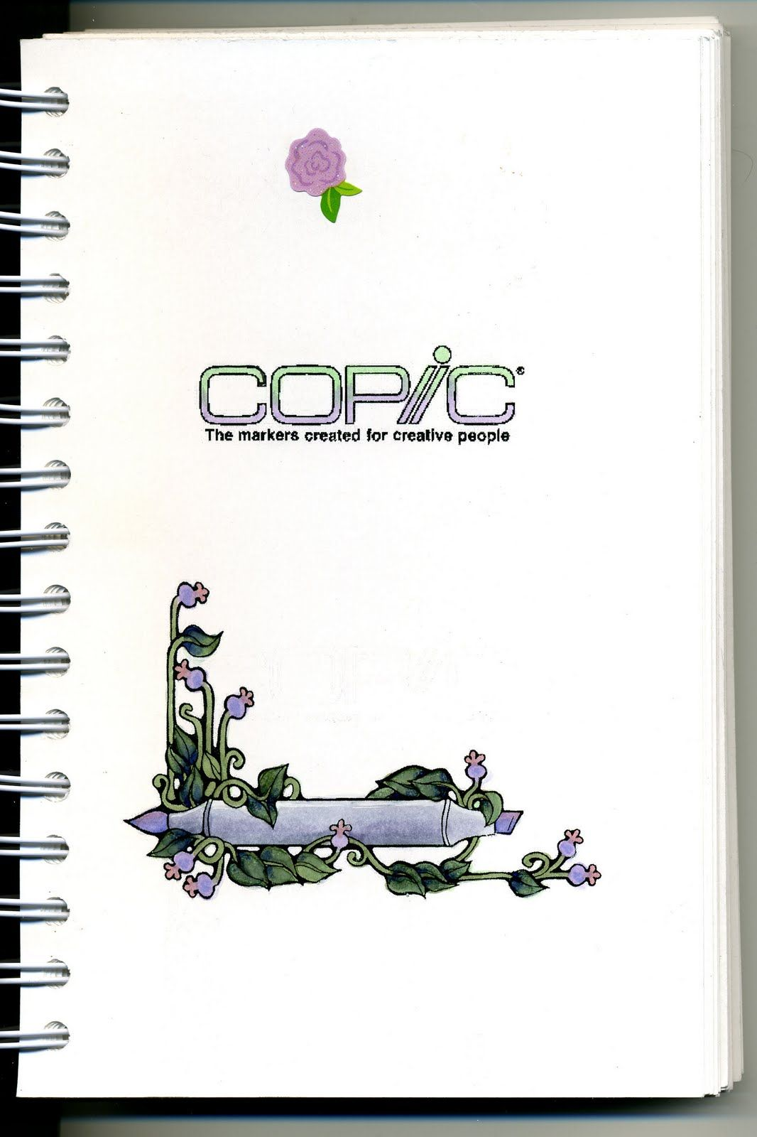Cat\'s Creations: Copic Swatch Book... How to make your own book ...