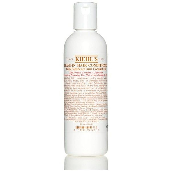 Kiehl S Leave In Conditioner With Panthenol Coconut Sunscreen