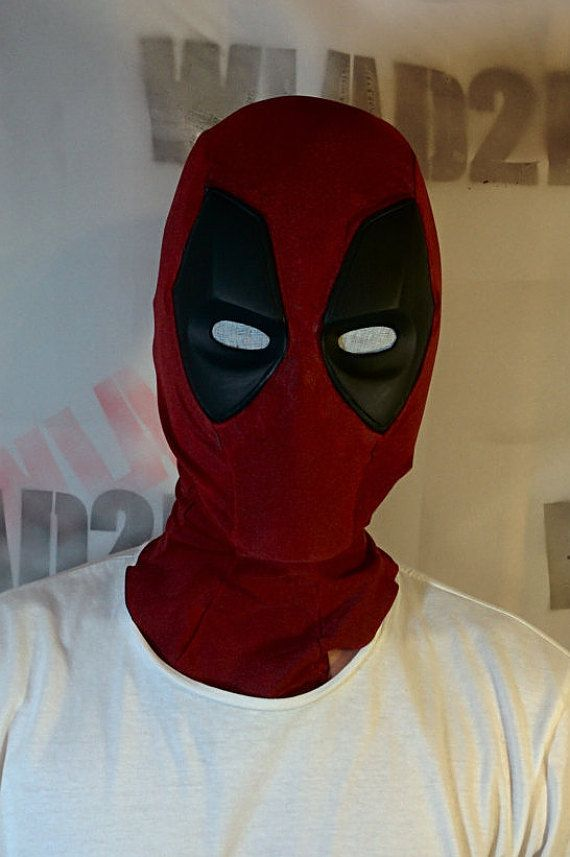 Deadpool Mask Etsy Deadpool Mask Mask Design Deadpool