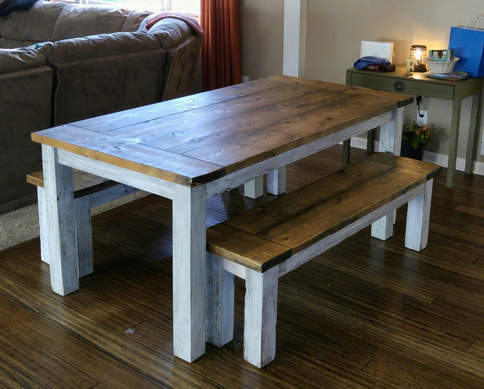 Farmhouse Table The Country Grammar Table Etsy Farmhouse Table Reclaimed Wood Table Table
