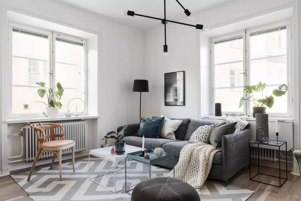 Get The Look Industrial Scandi Chic Living Room Industrial Chic