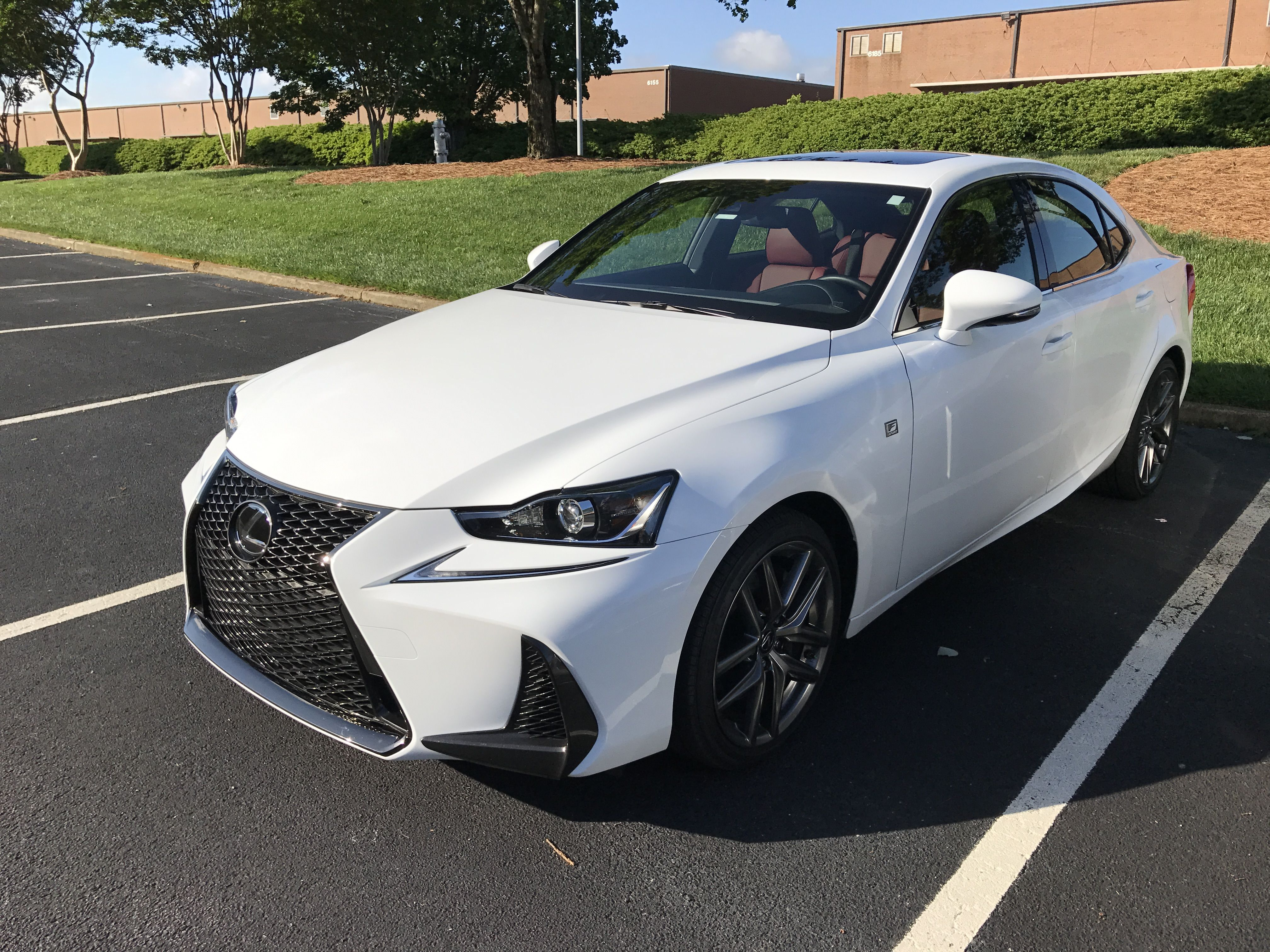 Just had the entire front of my 2017 Lexus IS350 FSport