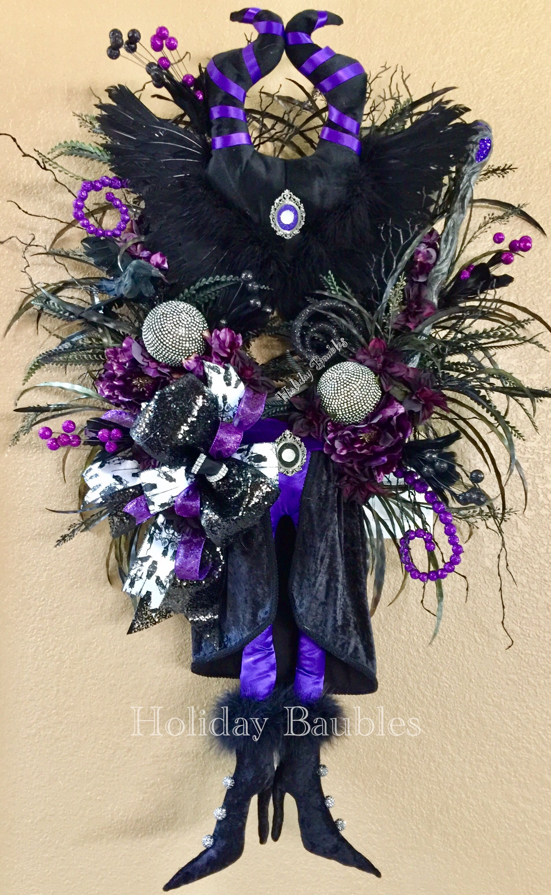 Maleficent Black Beauty by Holiday Baubles (With images