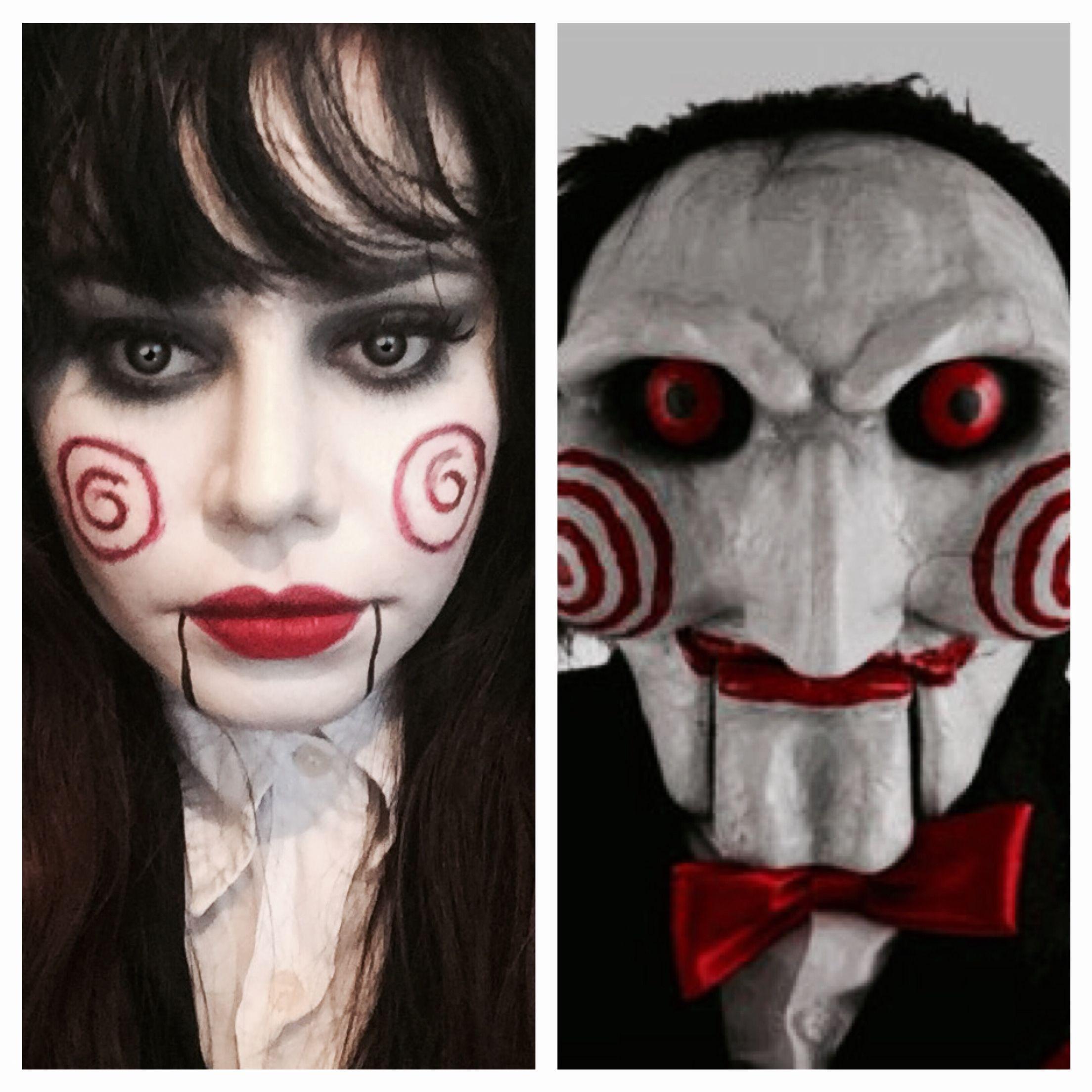 Maquillaje Saw Halloween disfraces, Maquillaje halloween