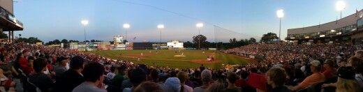 Trenton Thunder Arm & Hammer Park ( NY Yankees affiliate), Trenton, NJ.