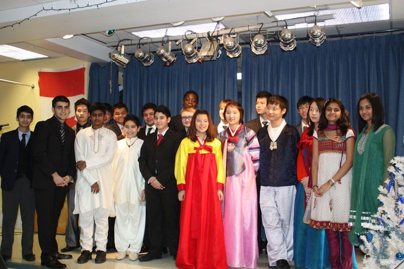 International Day. Student celebration of local cultures