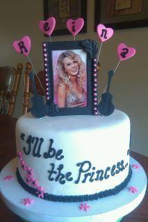 Amazing Taylor Swift Birthday Cake Taylor Swift Cake Taylor Swift Funny Birthday Cards Online Inifodamsfinfo