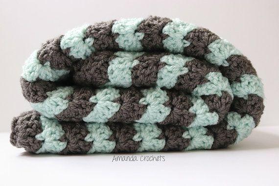 Shell Stitch Baby Blanket Pattern Crochet This Beginner Friendly