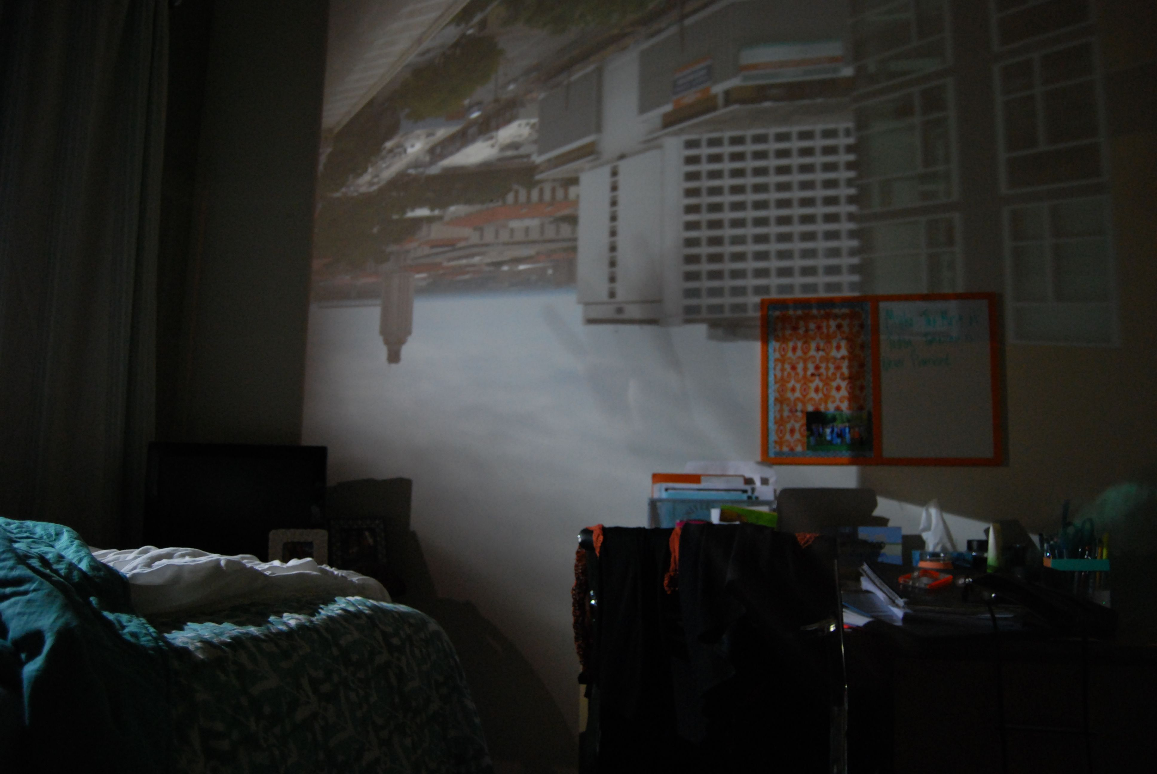 Photo Obscura Made My Room Into A Camera Experimental