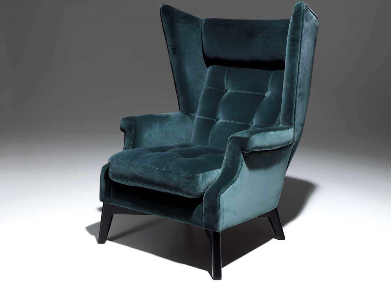 good tourdissant fauteuil oreilles design with fauteuil velours. Black Bedroom Furniture Sets. Home Design Ideas