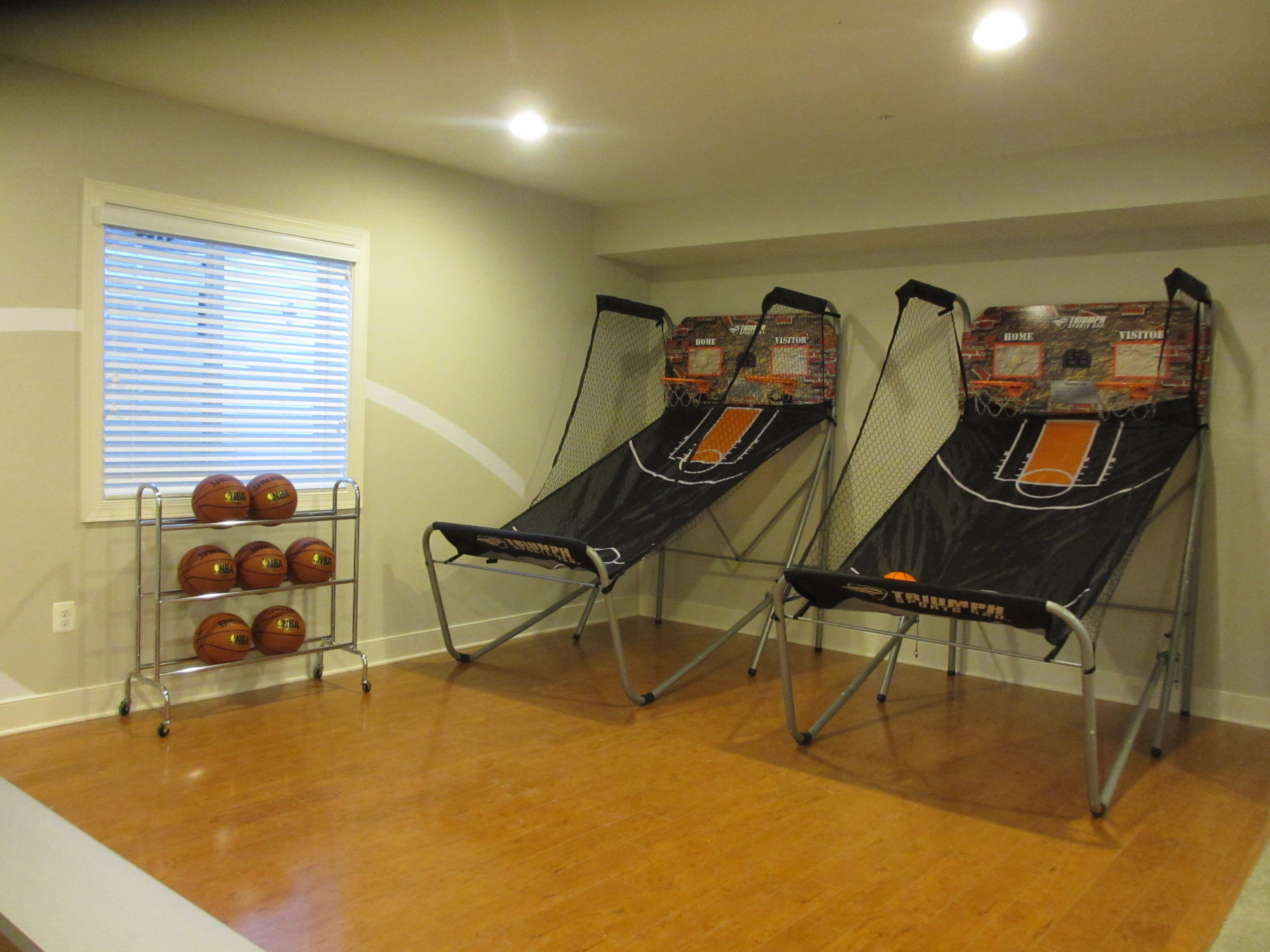 Stonewell KB Home in Waldorf Basketball Rec Room Kb