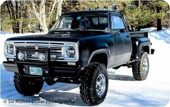 75 Dodge Power Wagon 4 X 4 Step Side | Dodge | Pinterest