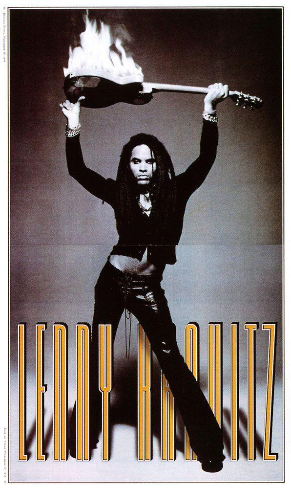Fred Woodward & Geraldine Hessler • Lenny Kravitz, Rolling Stone magazine, 1996