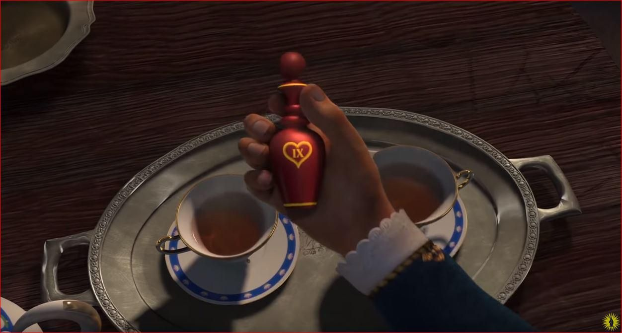 In Shrek 2 The Love Potion Fairy Godmother Gives To The King Has