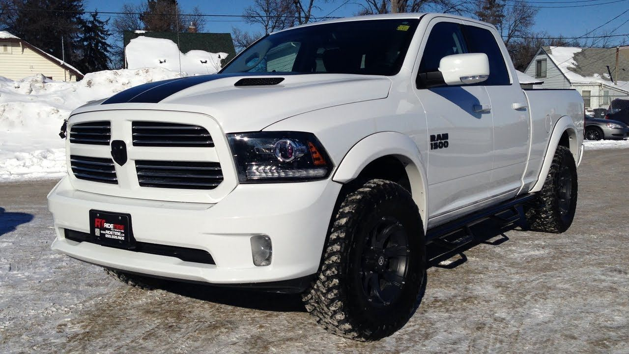 Lifted 2013 Ram 1500 Sport Winnipeg MB Leveling Kit