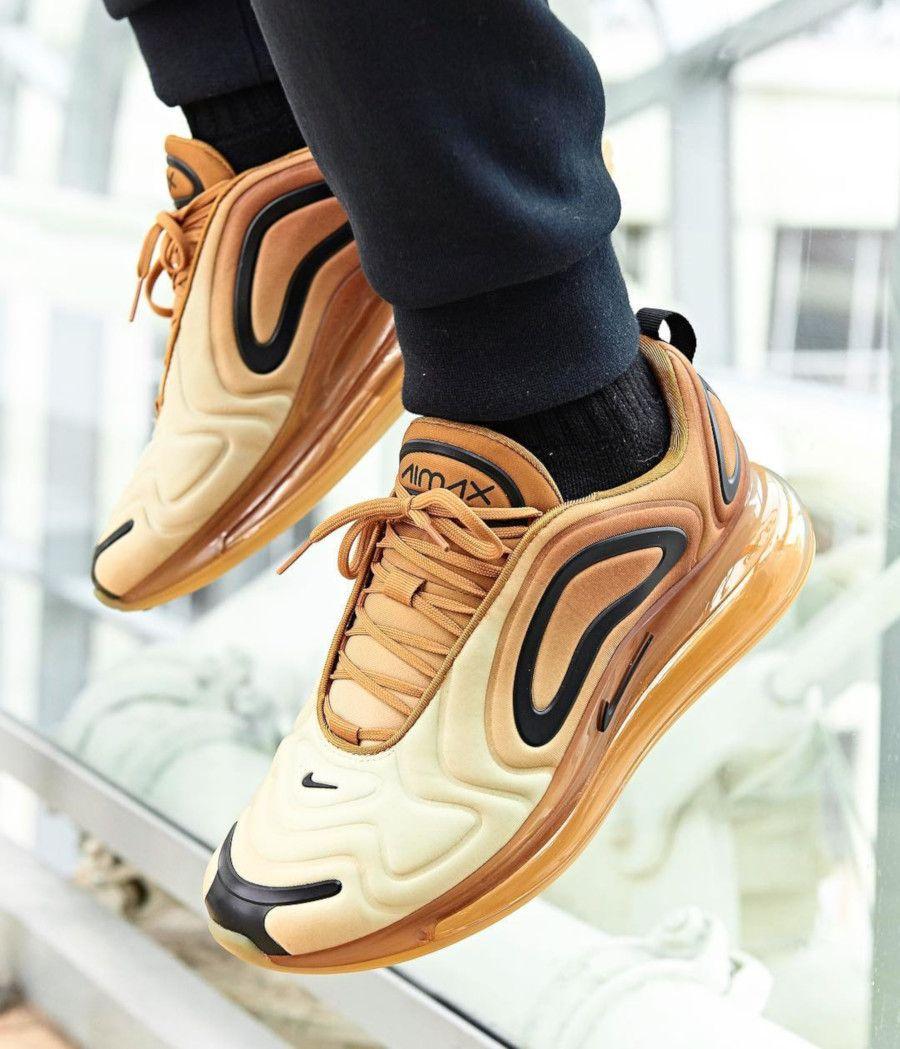 Faut-il acheter la Nike Air Max 720 Gold Wheat Black AR9293-700 ...
