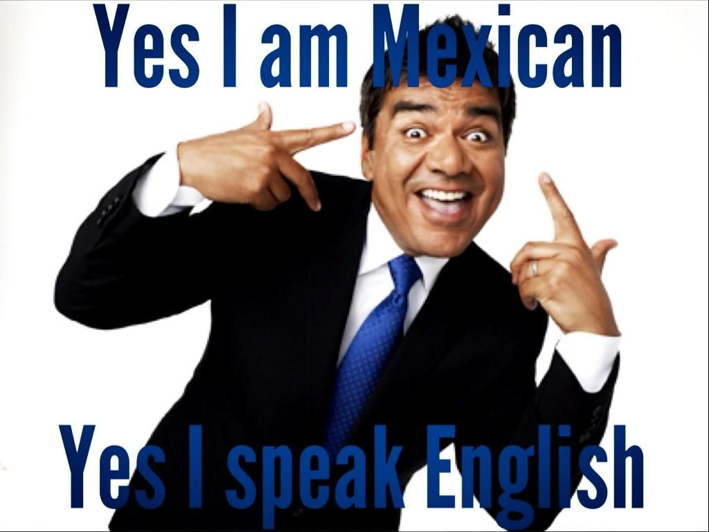 Mexican trying to speak english