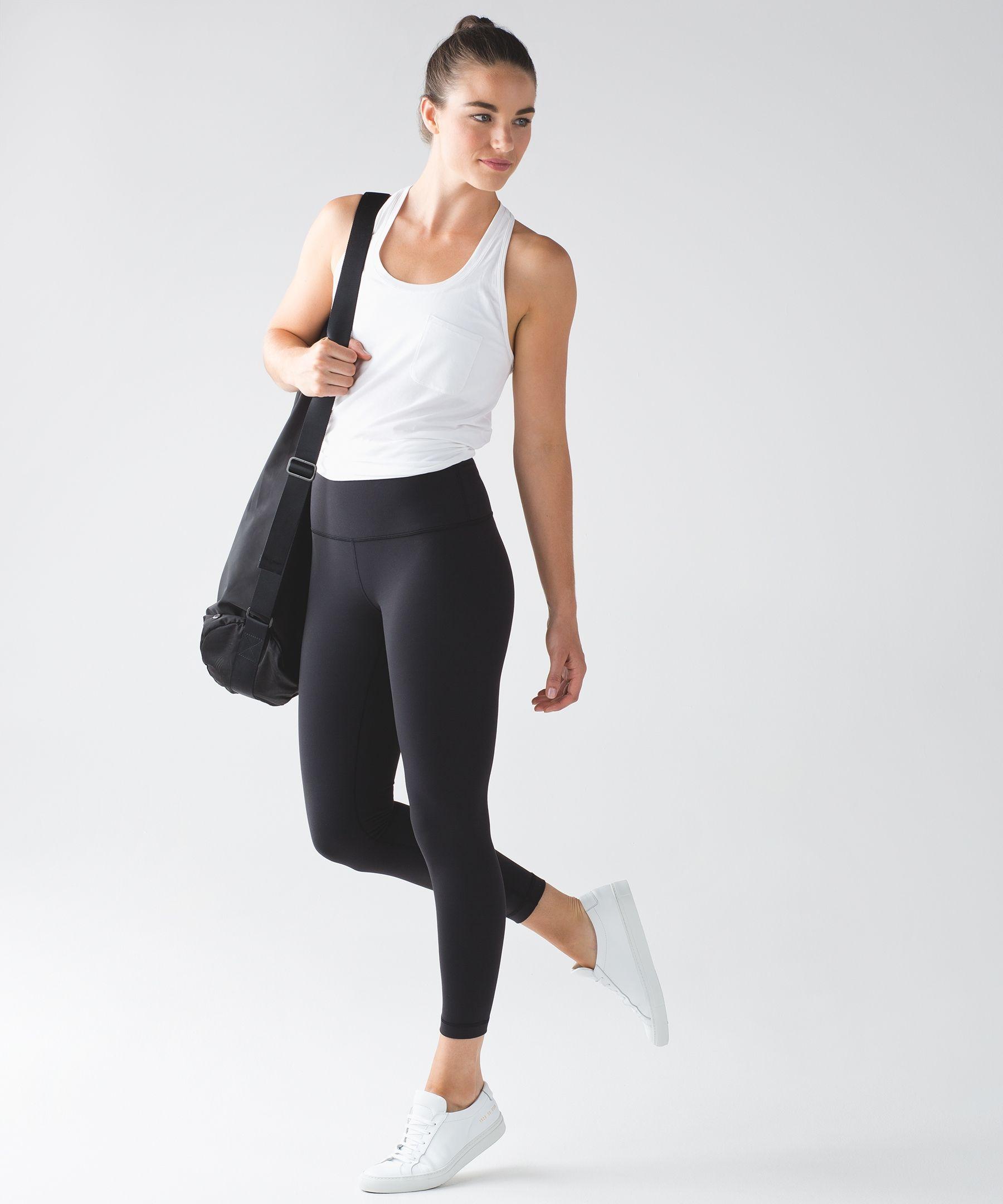 785d264e6de65 High-Rise Yoga Pants - (Black, Size 10) - High Times Pant *Full-On Luon -  lululemon