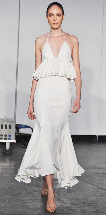 1d97330059 23 Spring 2015 Runway Looks That Can Double as Wedding Dresses - Juan  Carlos Obando from #InStyle