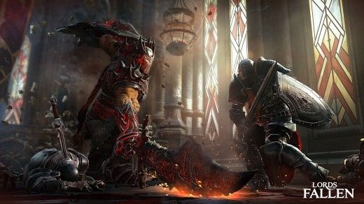Lords Of The Fallen Monster Fight