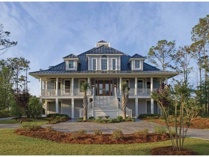Eplans House Plan Hwepl07577 Low Country Houses East Texas Www