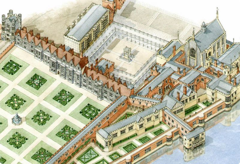 Whitehall Palace - Google Search