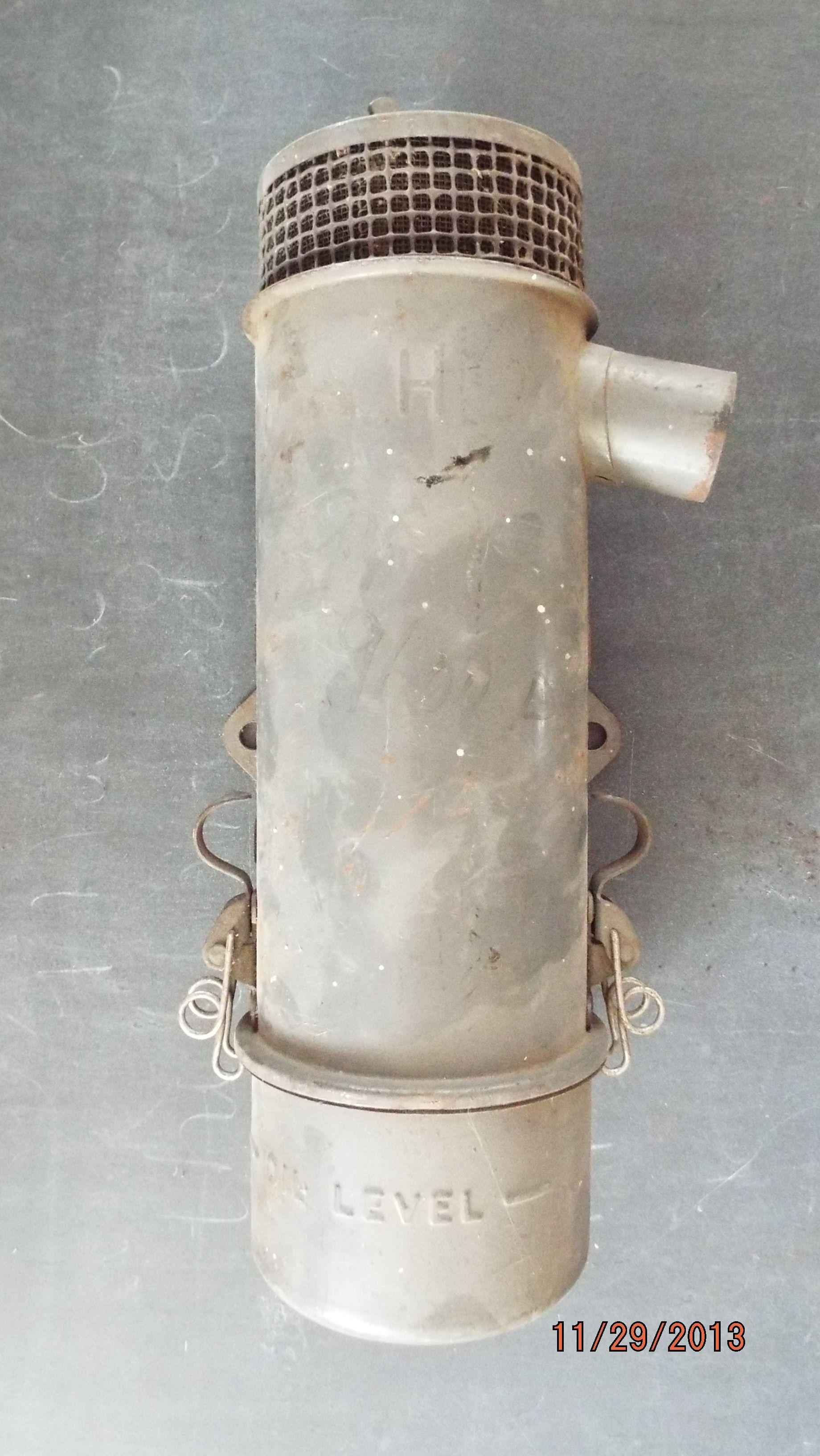 19421947 Original 2N Oil Bath Air cleaner assembly