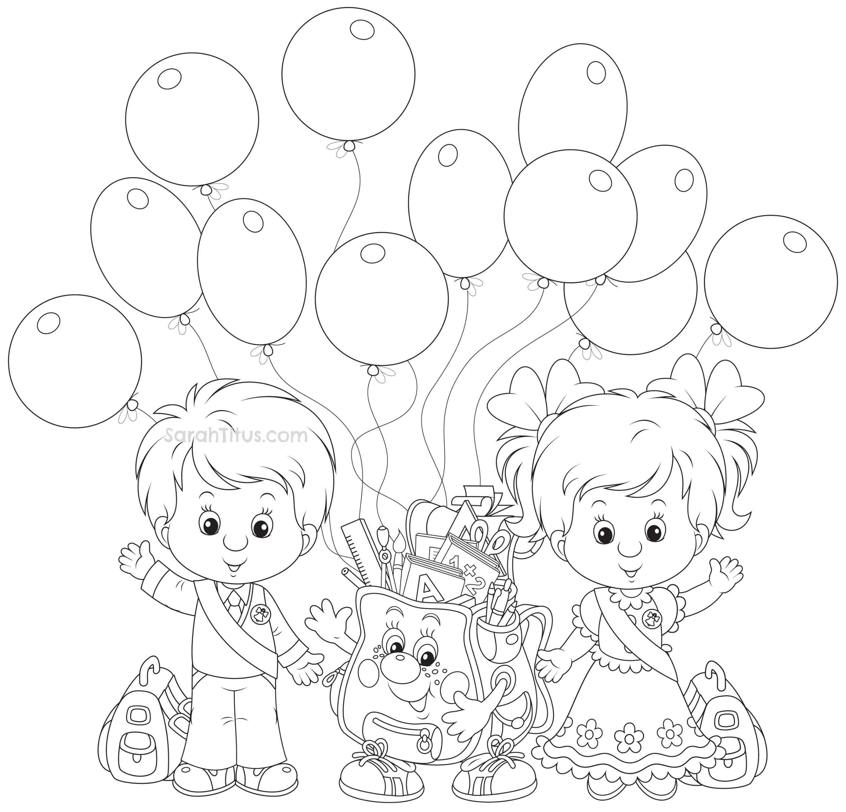 Back To School Coloring Pages Kindergarten Coloring Pages School Coloring Pages Spring Coloring Pages