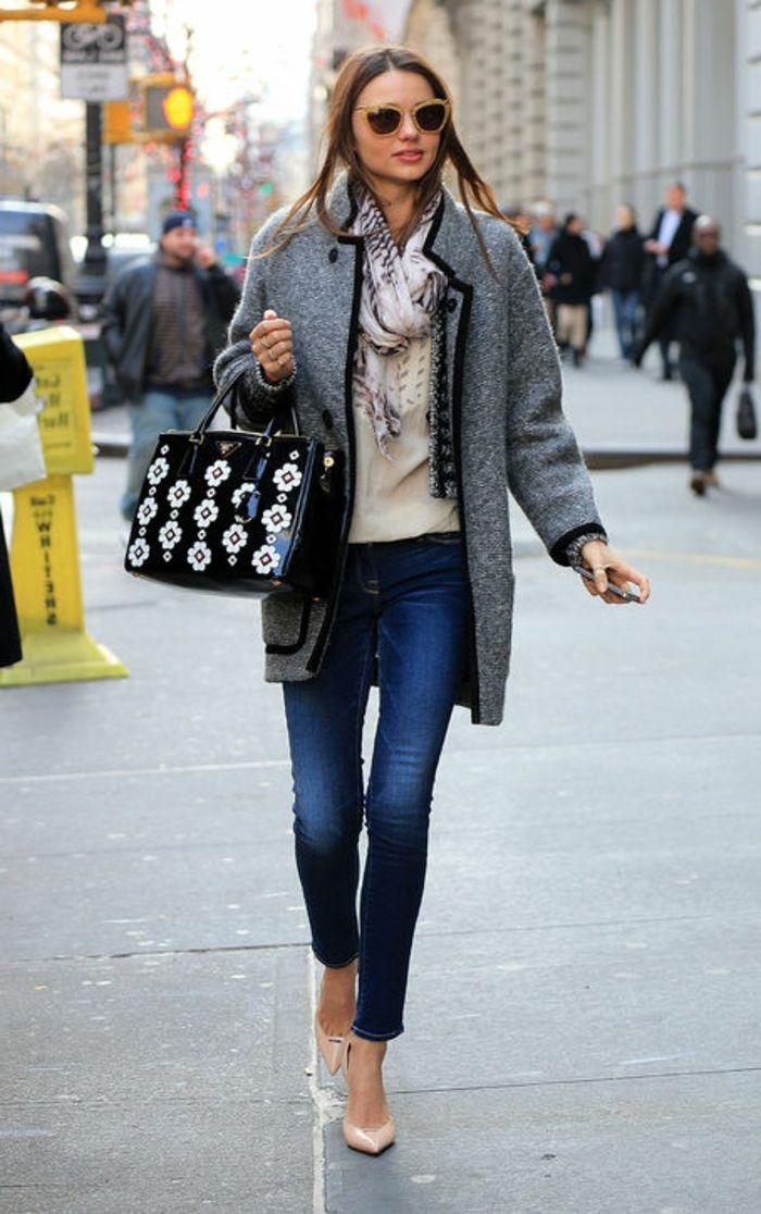Donna Colore Jeans Casual Abbigliamento Cappotto Grigio Stile qx4aOnw0R