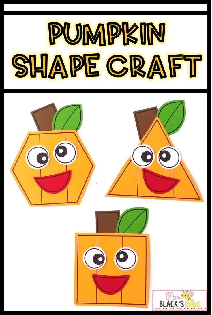 Pumpkin Shape Craft