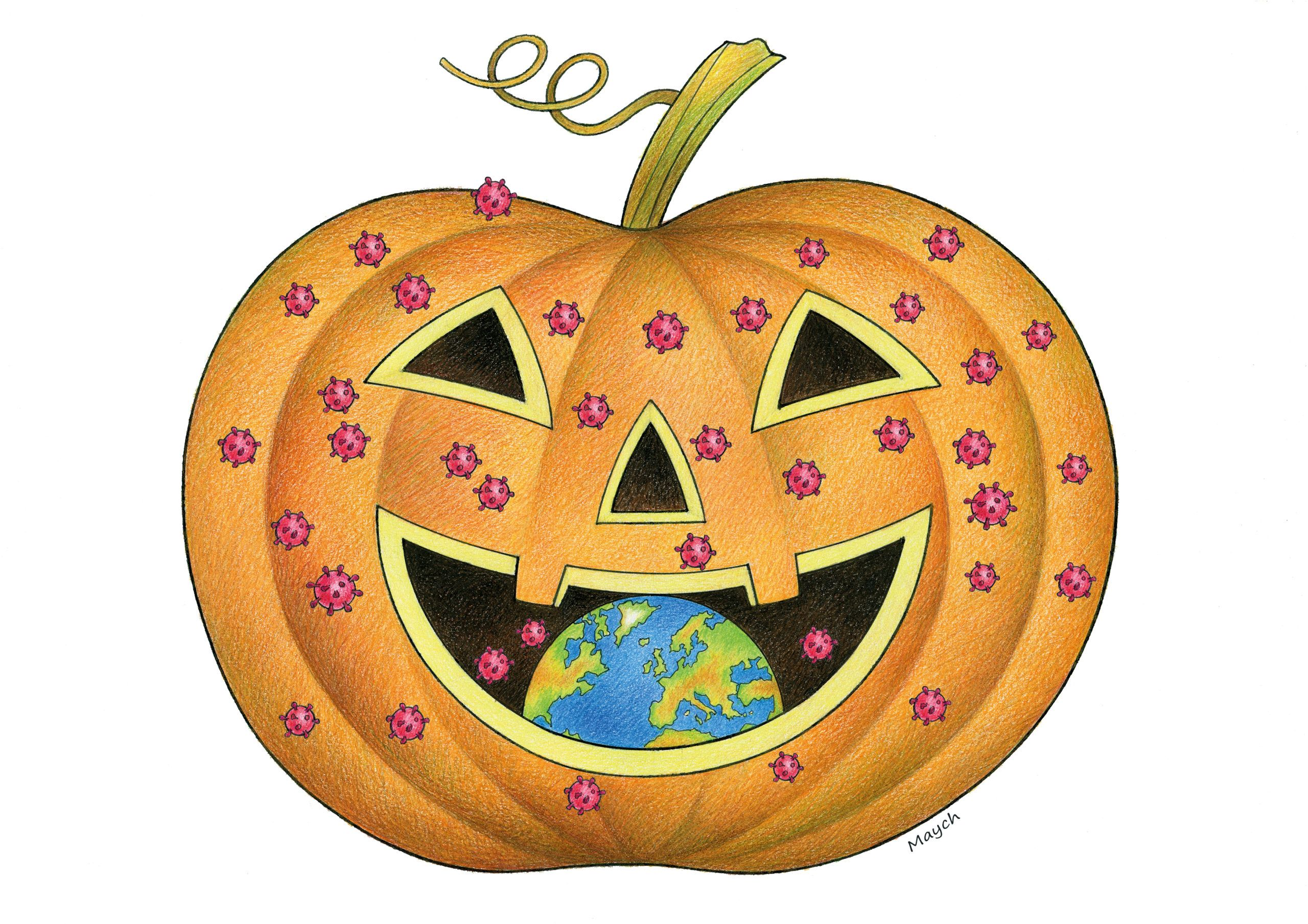Halloween in 2020 Halloween, Cartoon news, Cool cartoons
