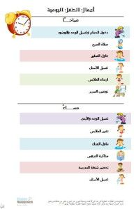 برنامج إدارة البيت Kids Planner Kids Education Behavior Reflection Sheet